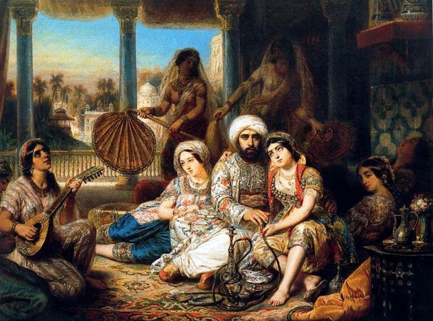 Восточная парфюмерия в истории