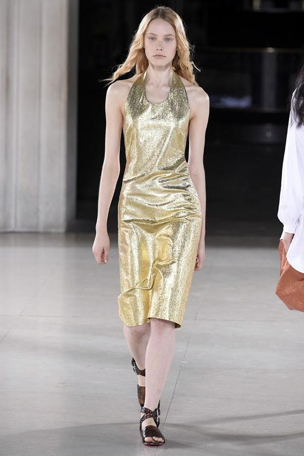 Золотая одежда и аксессуары 2015