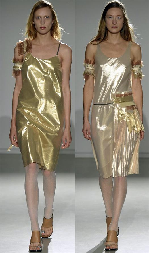 Золотые платья фото