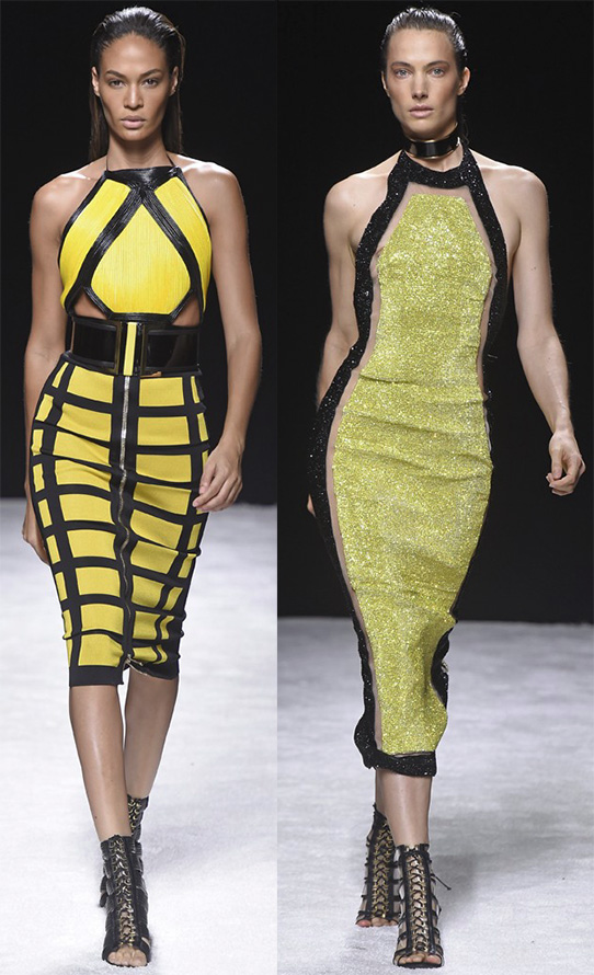 желтые платья весна-лето 2015