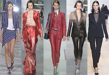 Модные женские костюмы – 2015