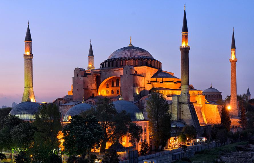 София – главный собор Константинополя