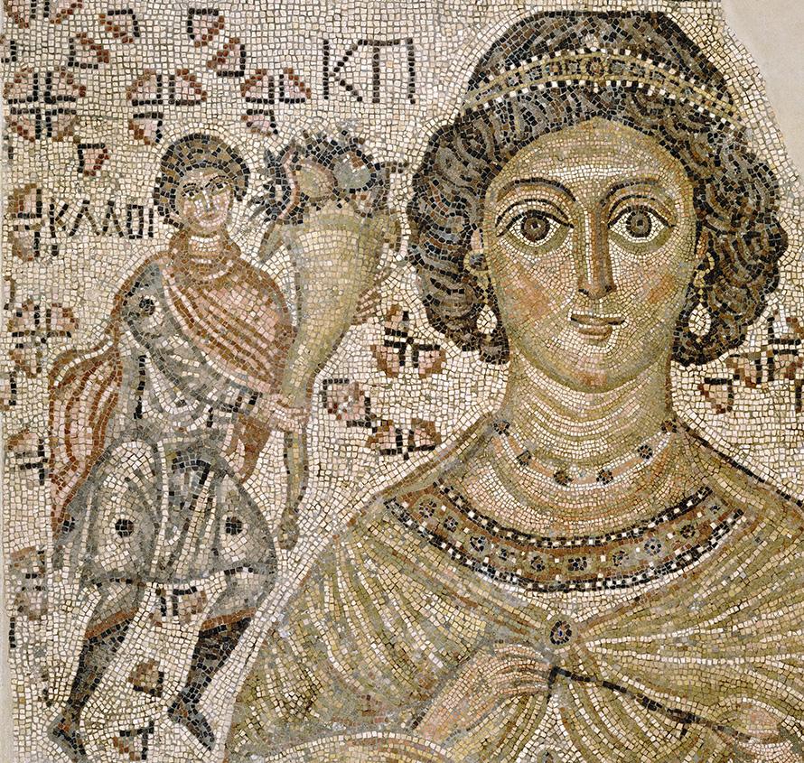 Прически Византии