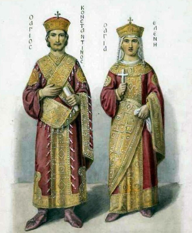 История прически в Византии