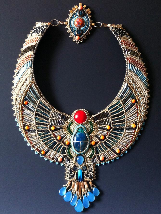 Колье в египетском стиле, фото