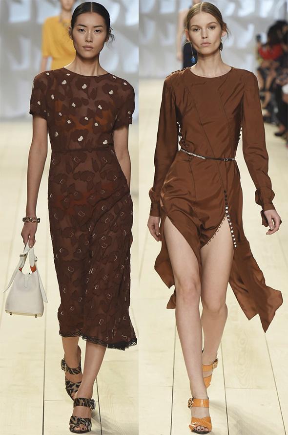 Картинки коричневого платья
