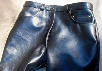 Кожаные брюки – 17 моделей 2015 года
