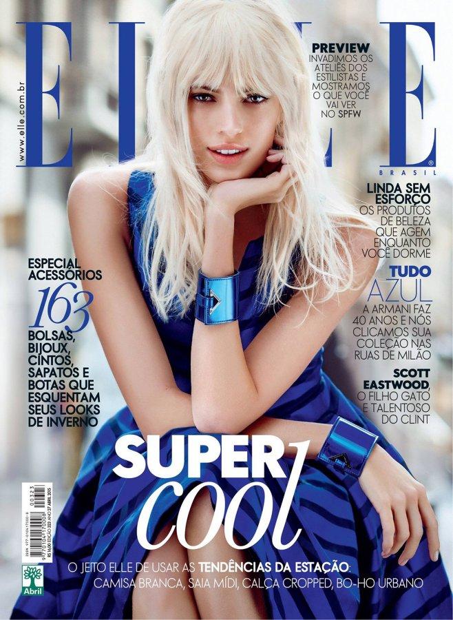 Девон Виндзор на обложке Elle