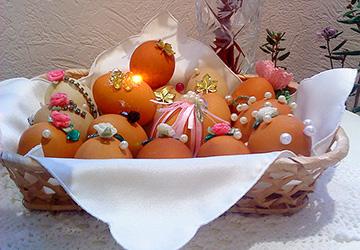 Приготовления к празднику Пасхи