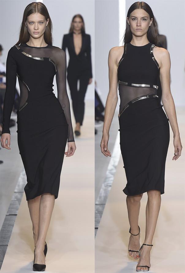 Черные платья весна-лето 2015