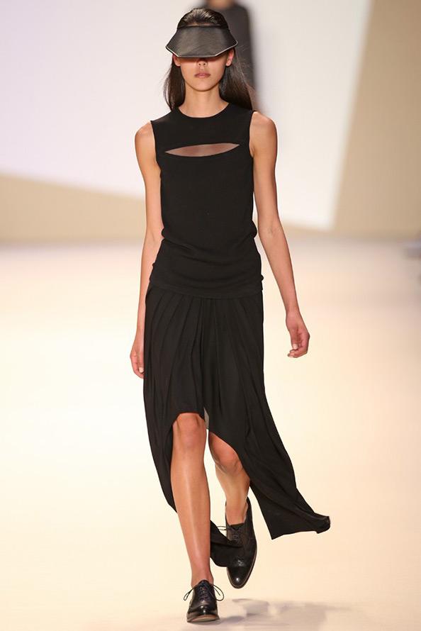 Черные платья из коллекций 2015