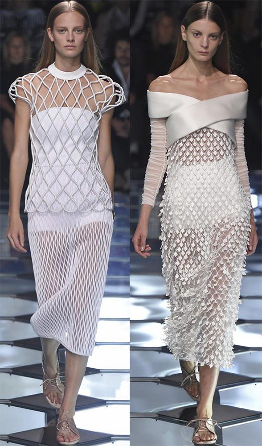 Прозрачные платья весна-лето 2015