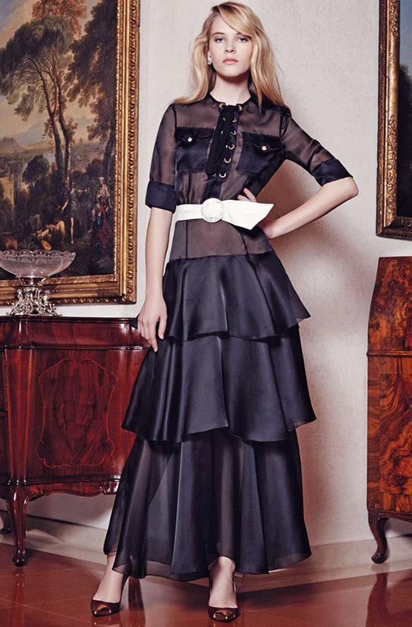 Прозрачные платья из коллекций 2015