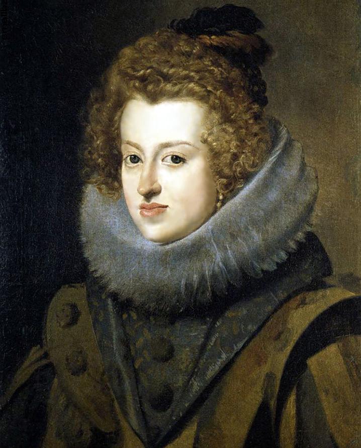 Прически Испании XVI–XVII веков