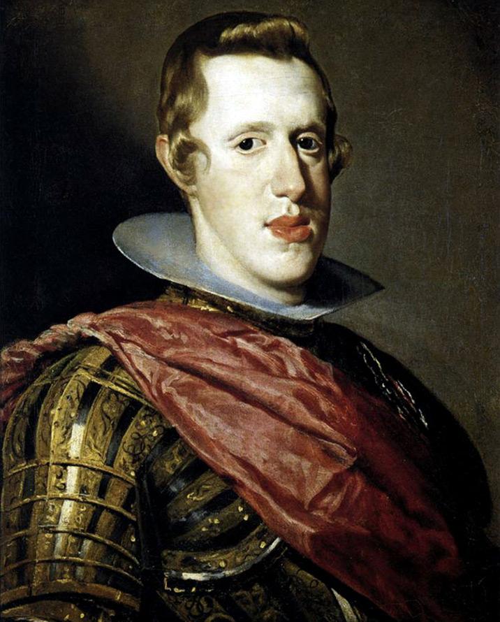 Портрет короля Испании Филиппа