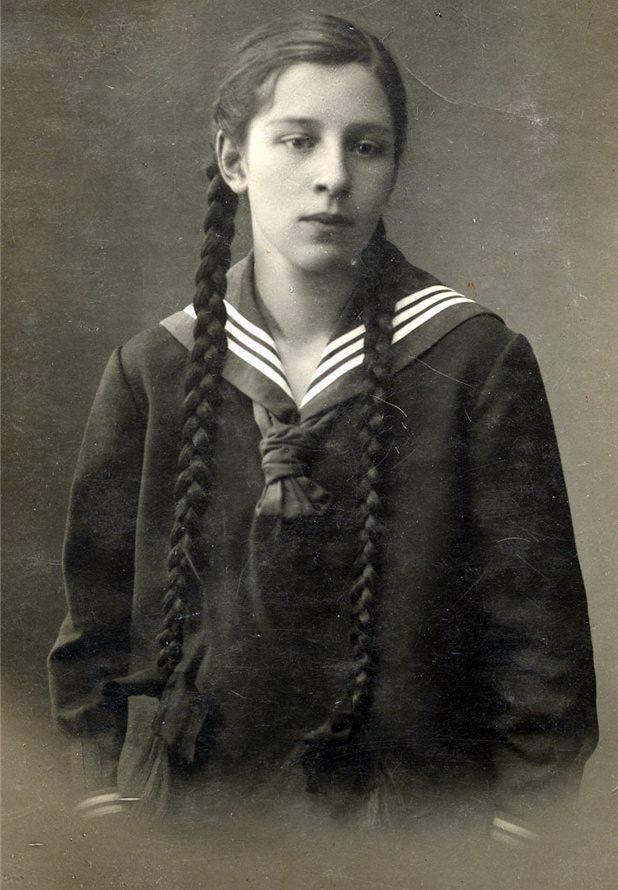 Детский морской костюм для девочек