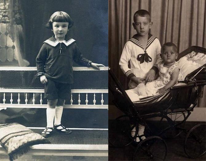 Детский морской костюм для мальчиков