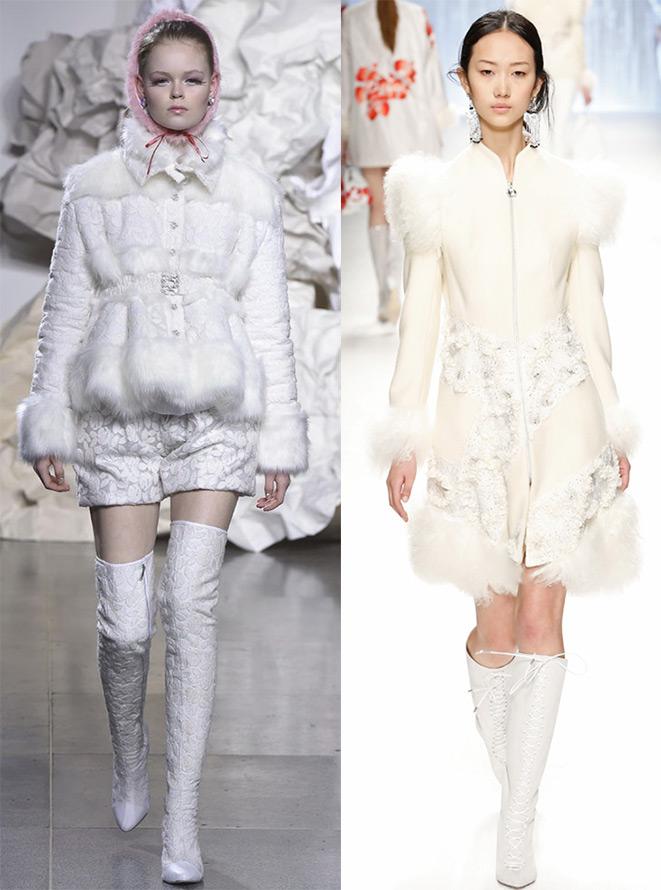 Белые наряды и белые образы 2015-2016