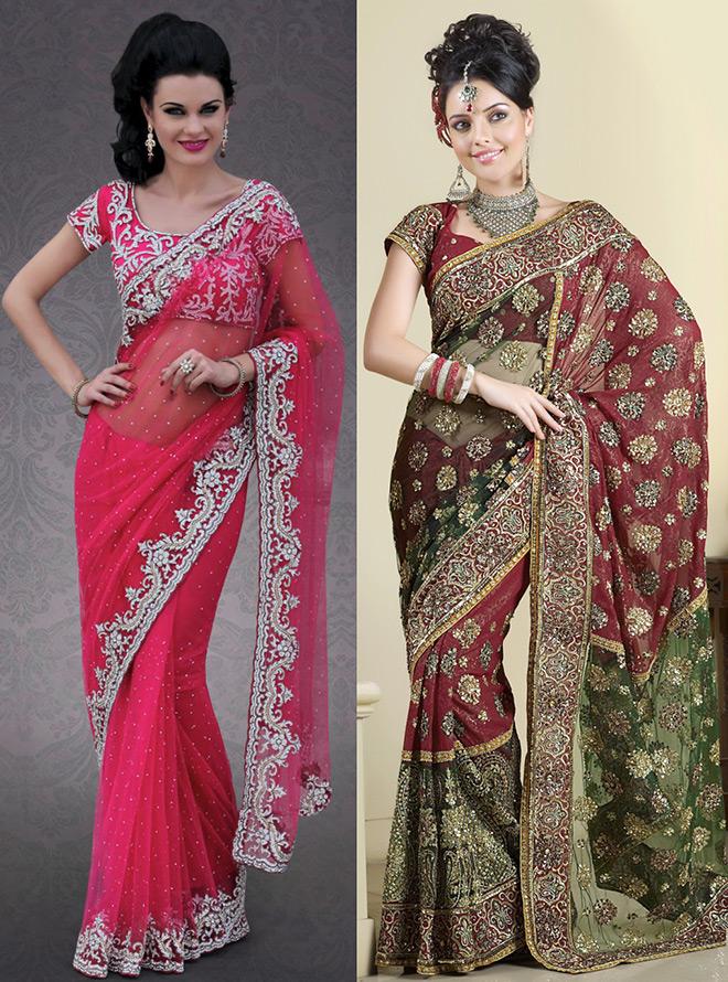 Индийское сари – история и мода