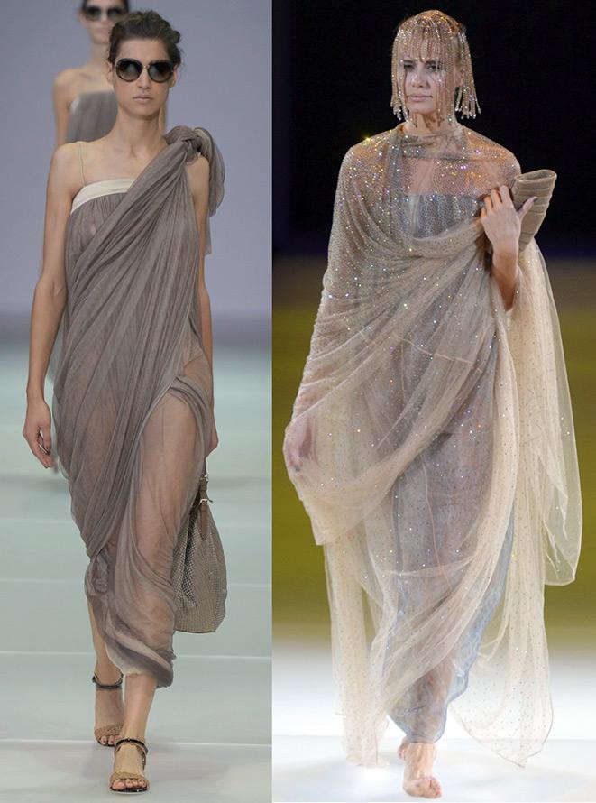 сари и мода