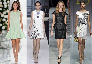 Красивые короткие платья 2015