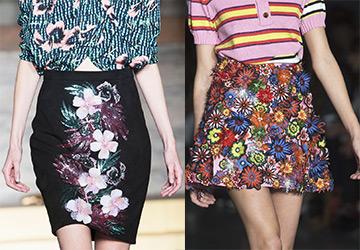 Красивые юбки весна-лето 2015