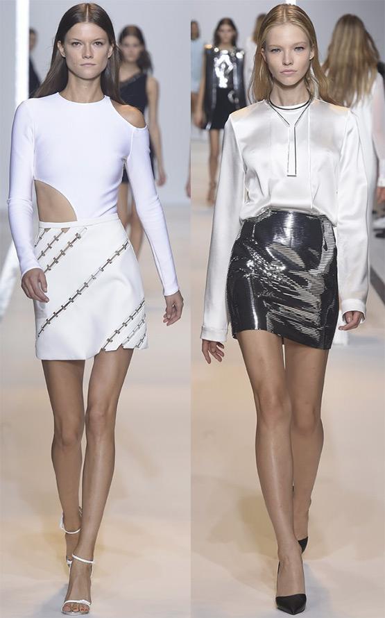 Короткие юбки Thierry Mugler