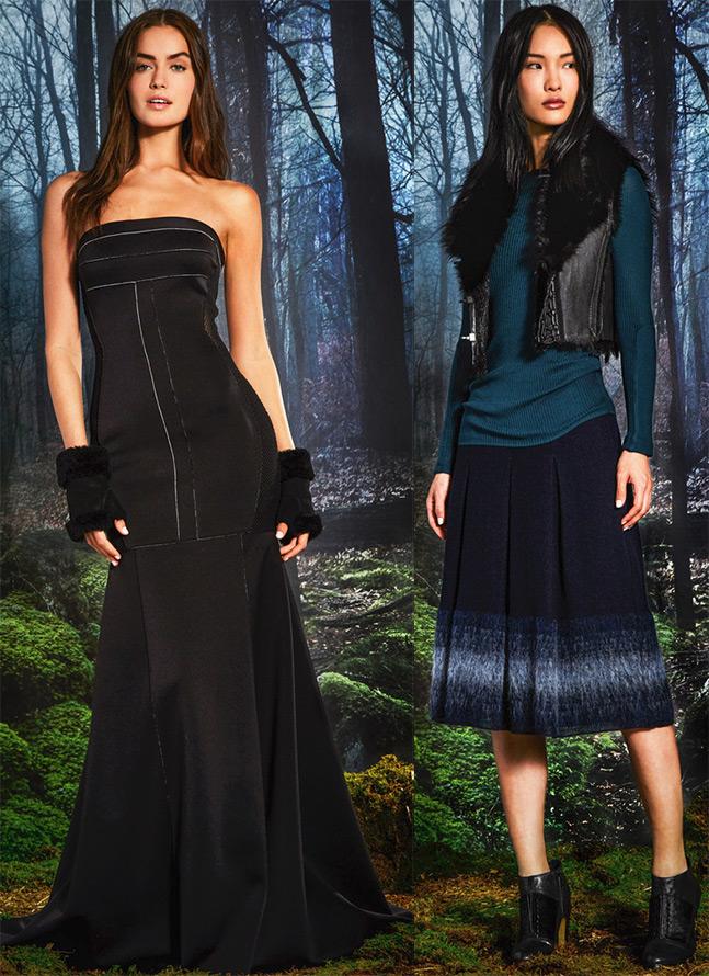 Удлинение юбок и платьев