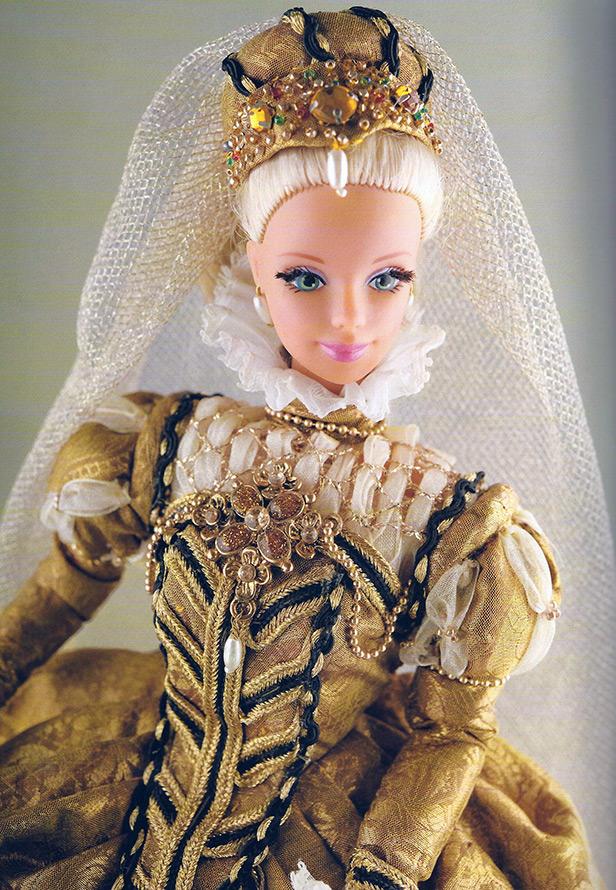 Исторический костюм для Барби