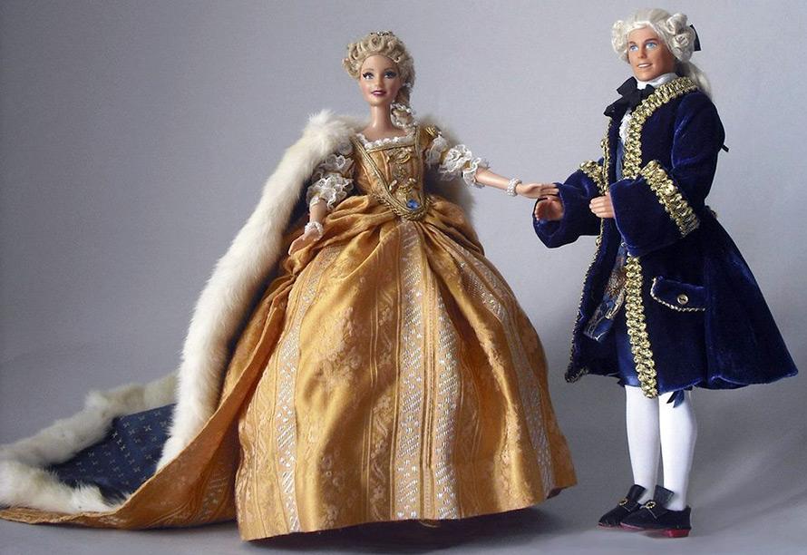 Исторический костюм для кукол