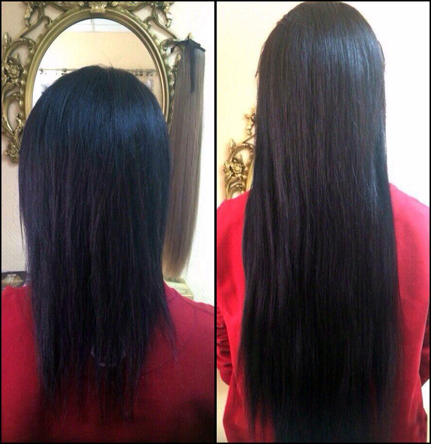 Азиатские волосы для наращивания