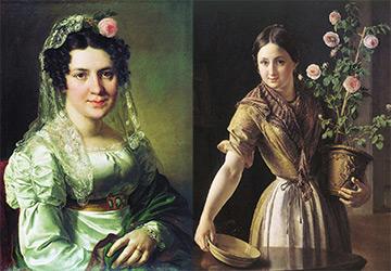 Женские образы в портретах художника Тропинина