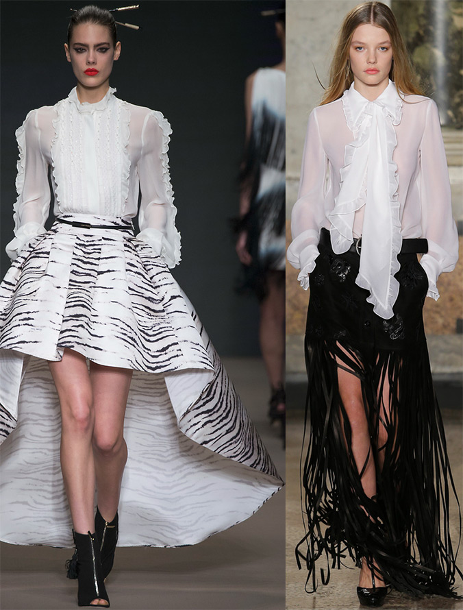 модные блузки осень-зима 2015-2016