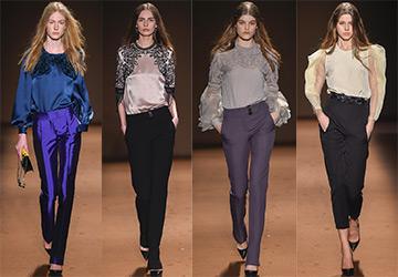 Красивые и модные блузки осень-зима 2015-2016