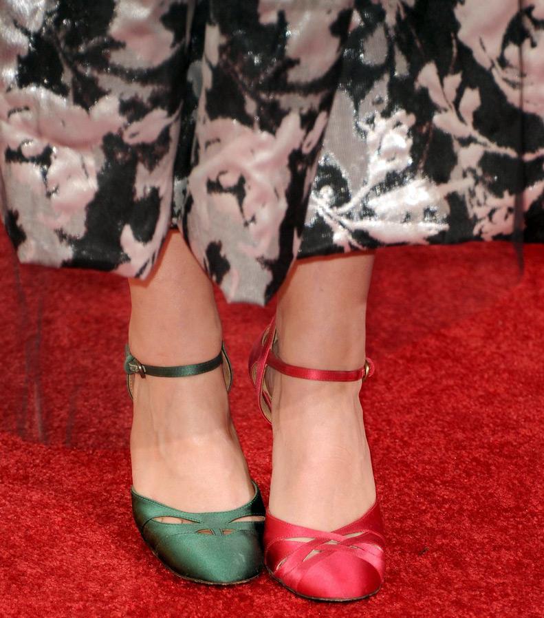 Туфли разного цвета