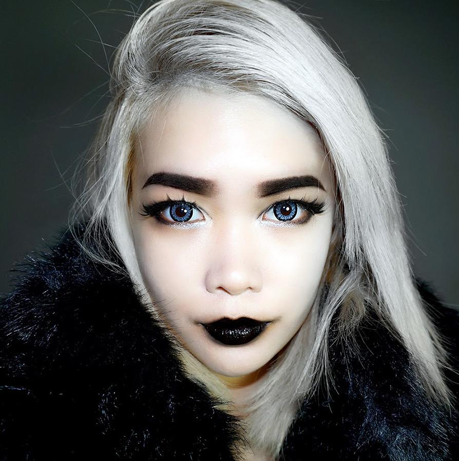 Готический макияж губ