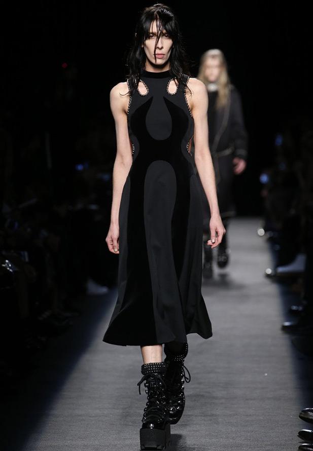 Alexander Wang черное платье