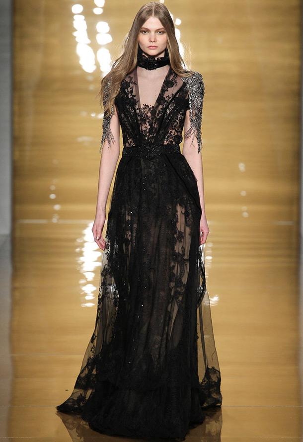 Роскошное платье Reem Acra