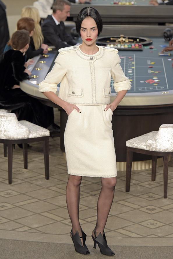 Кутюрная коллекция Chanel 2015-2016