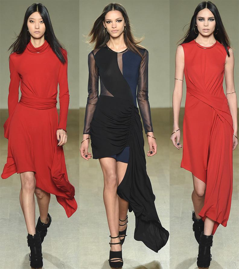 Ассиметричные фасоны платьев