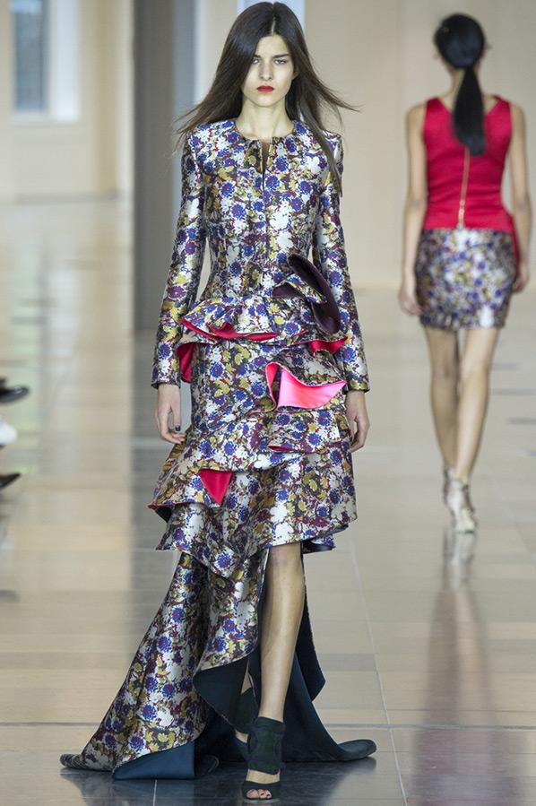 Ассиметричное платье Antonio Berardi