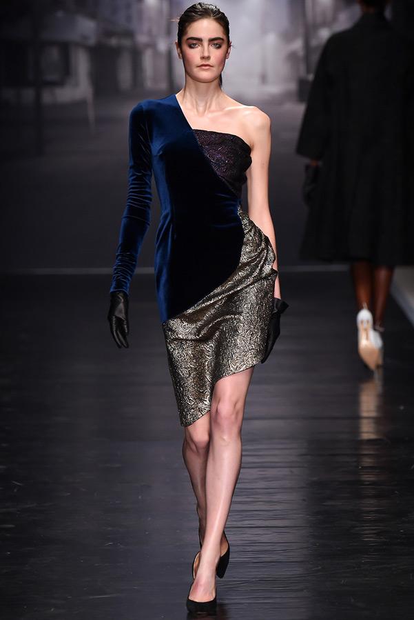 Ассиметричное платье, фото
