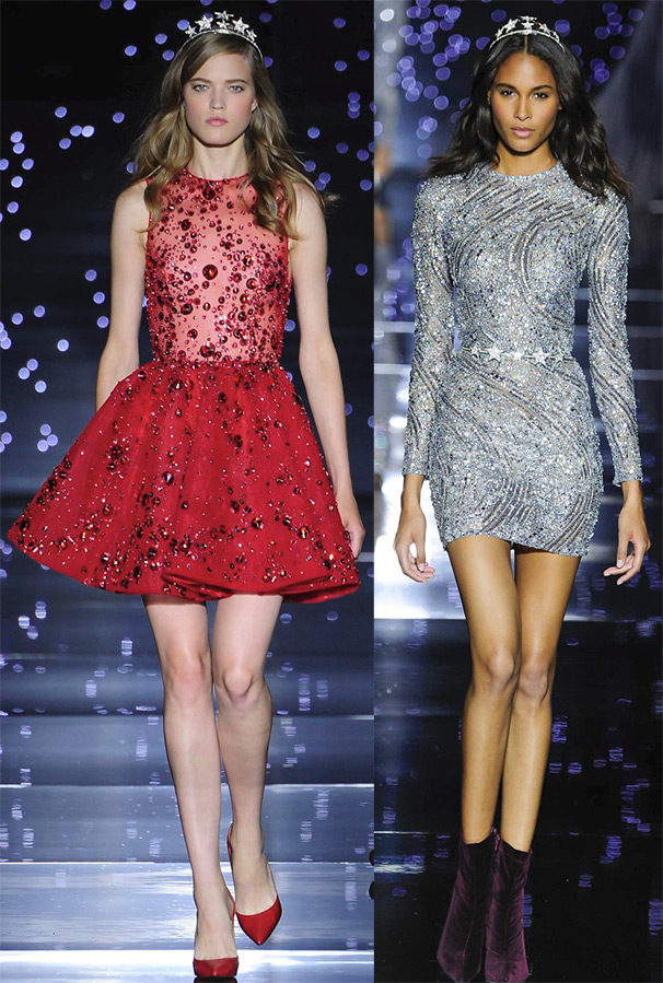 роскошные платья на осень и зиму