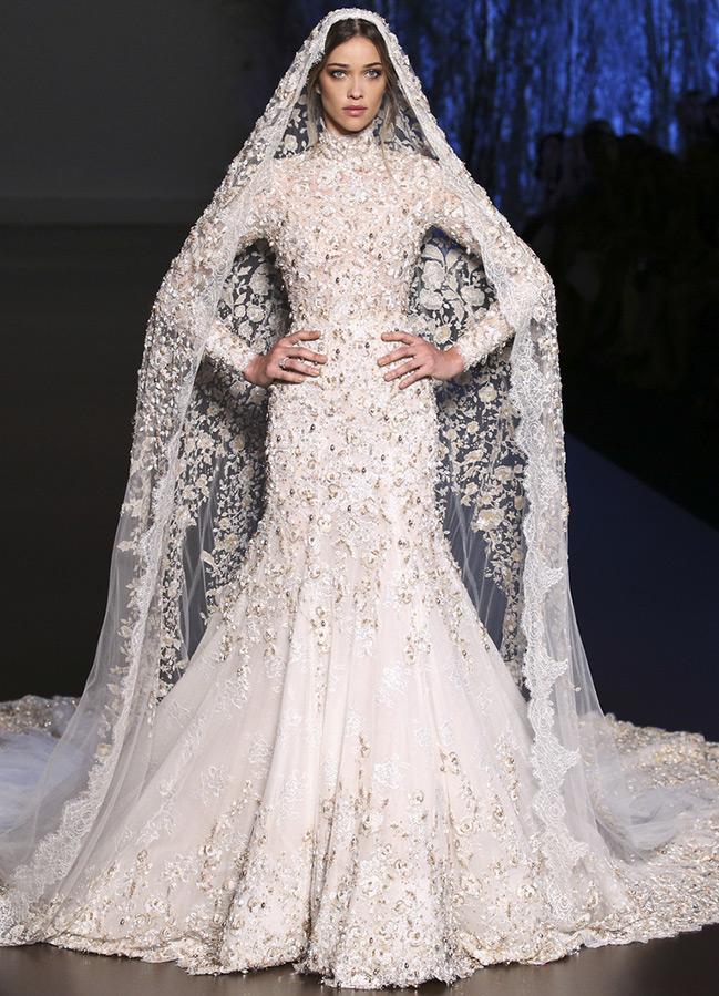 Свадебное платье Haute Couture 2019-2016