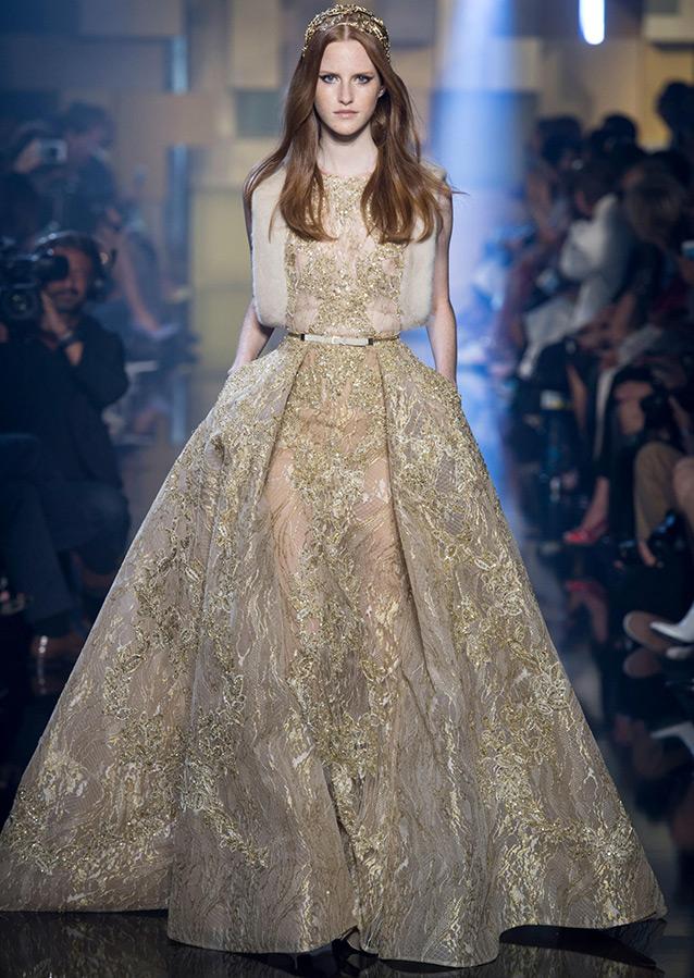 Elie Saab платье из коллекций Haute Couture