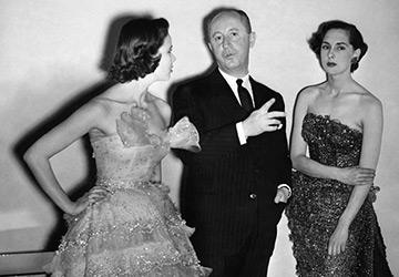Мода и прически 1950-х годов