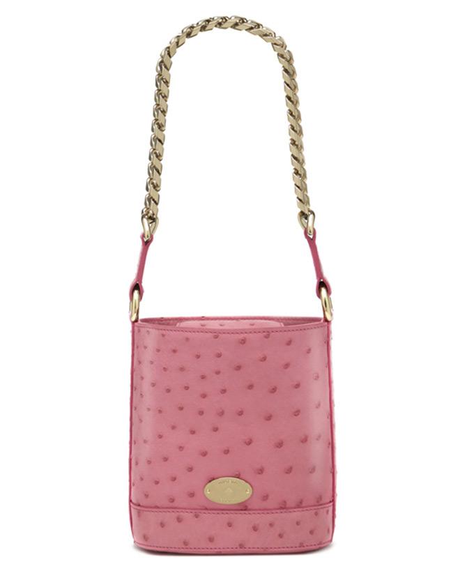 розовая сумка Mulberry