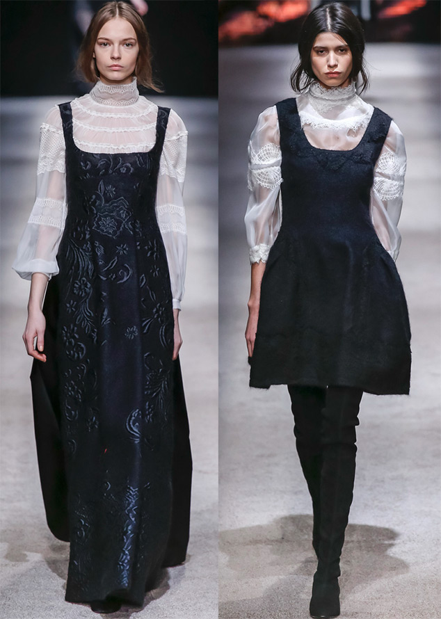 Платья сарафаны для зимы