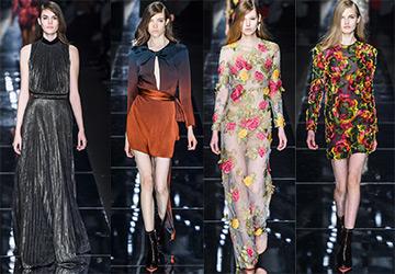 Модные платья из коллекций 2015-2016