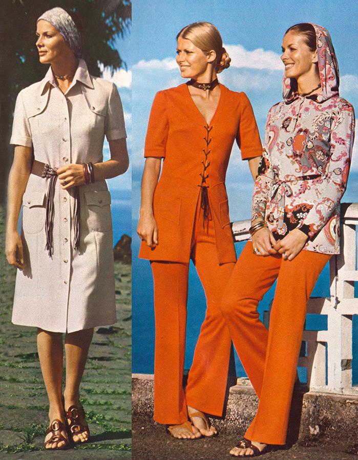 Платья 1970 годов фото